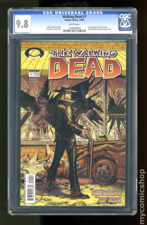 The Walking Dead First Issue Mint 2003