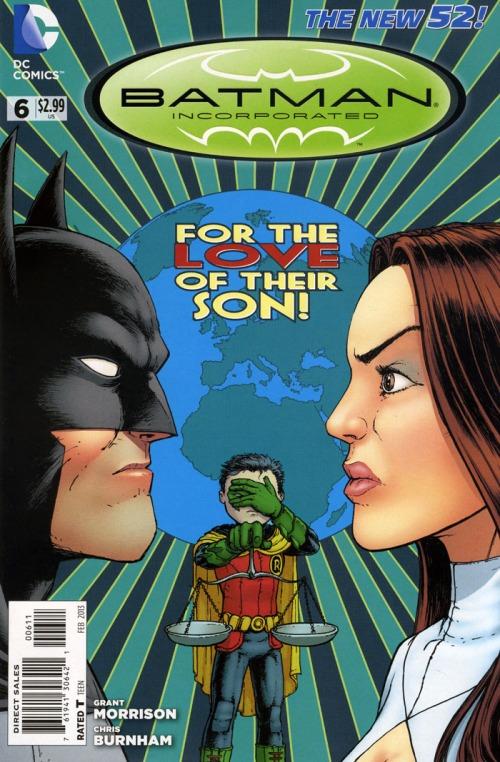 New 52 Batman Inc 6