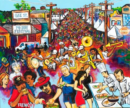 Frenchy Poboy Festival