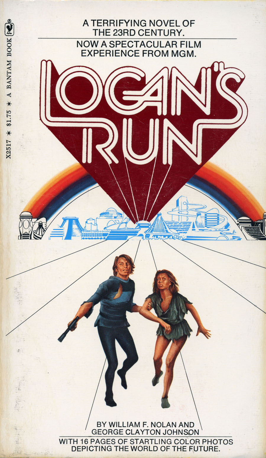 LOGAN'S RUN Book Review: A Lost Science Fiction Classic ...