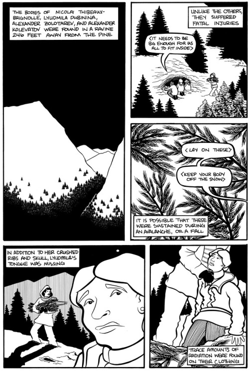 """The Dyatlov Pass Incident"" by Emi Gennis"