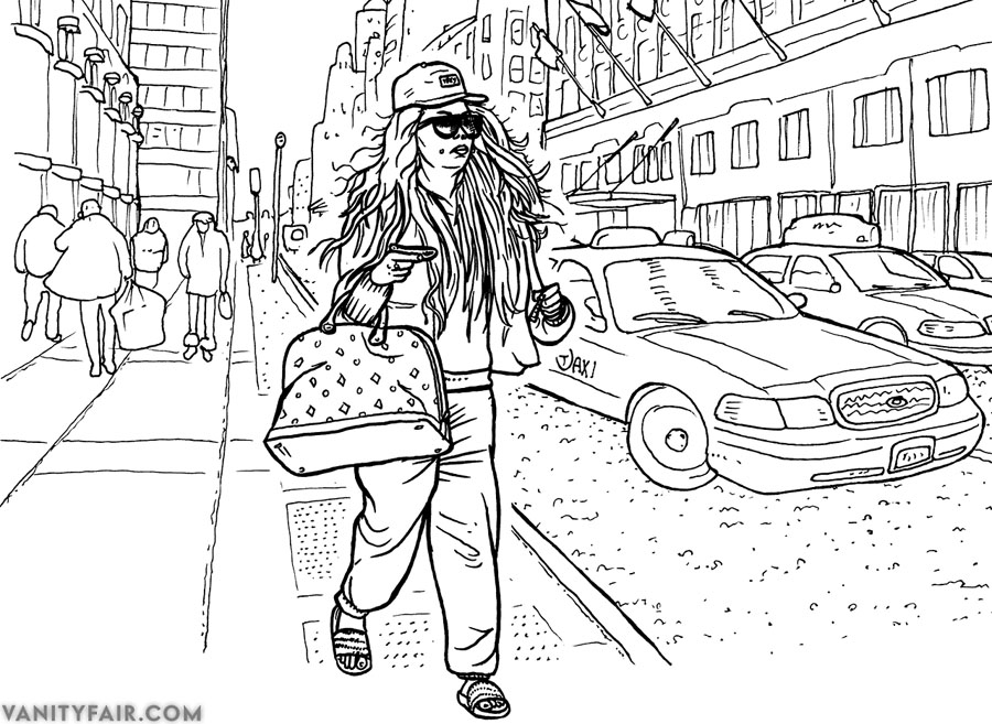 Amanda Bynes Coloring Book 2013