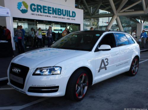 Audi used the A3 wagon to test its electric power train, in what could be its first production e-car (Credit: Wayne Cunningham/CNET)