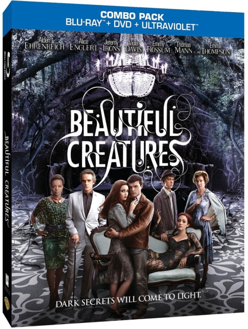 """Beautiful Creatures "" available on Blu-ray Combo pack, DVD and Digital Download 5/21"
