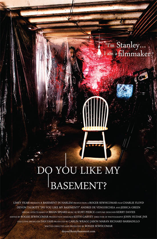 film program and the new horror feature do you like my basement