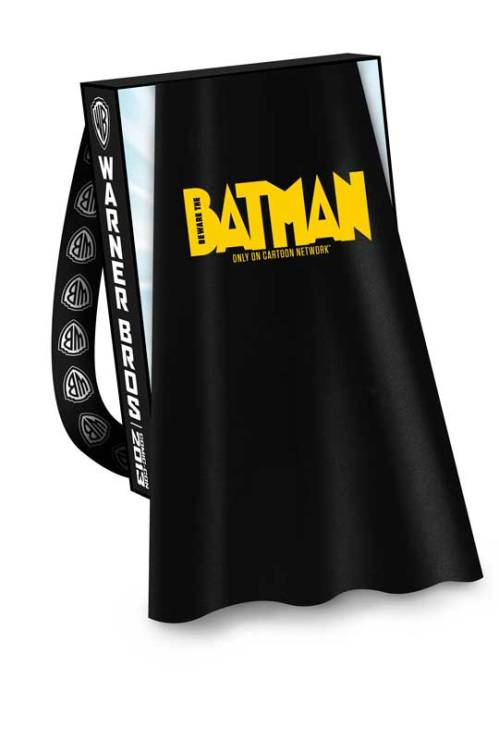 BEWARE-THE-BATMAN-Comic-Con-2013-Cape-with-TEEN-TITANS-GO-Bag