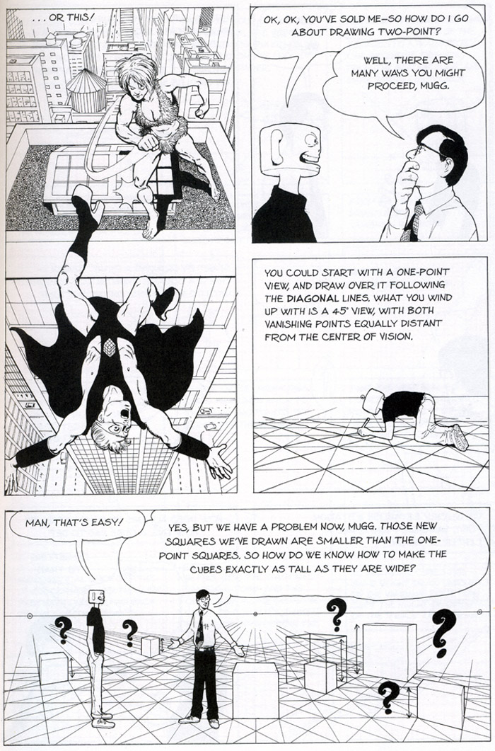 [bank] livres pour apprendre le dessin - Page 4 David-chelsea-perspective-for-comic-book-artists