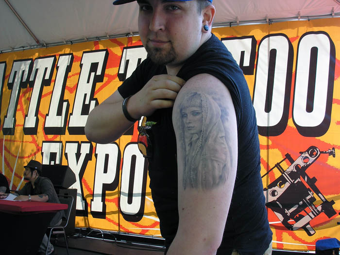 Memoir comics grinder for Tattoo expo seattle