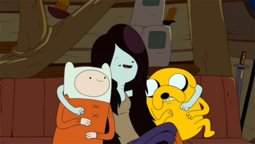 "Marceline the Vampire Queen in ""Adventure Time"""
