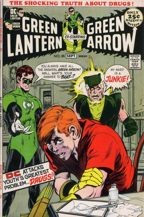 """Green Lantern/Green Arrow,"" by Denny O'Neil and Neal Adams, DC Comics, 1971"