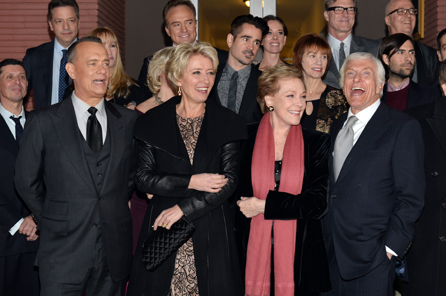Premiere of SAVING MR. BANKS at Walt Disney Studios in ...