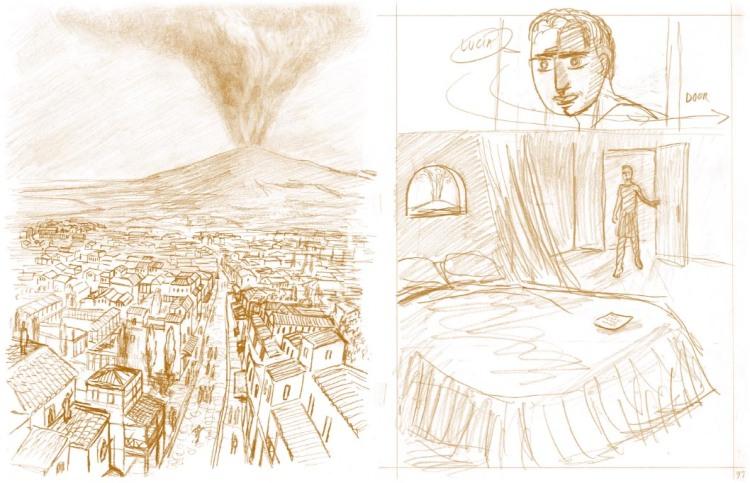 Pompeii by Frank Santoro