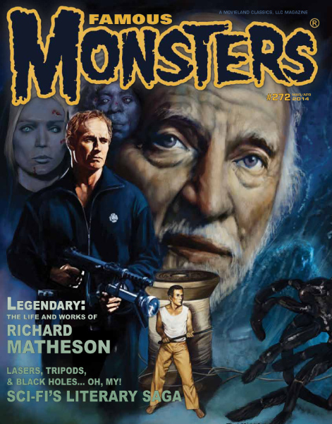 FAMOUS MONSTERS #272 RICHARD MATHESON (DIAMOND/SUBSCRIBER)