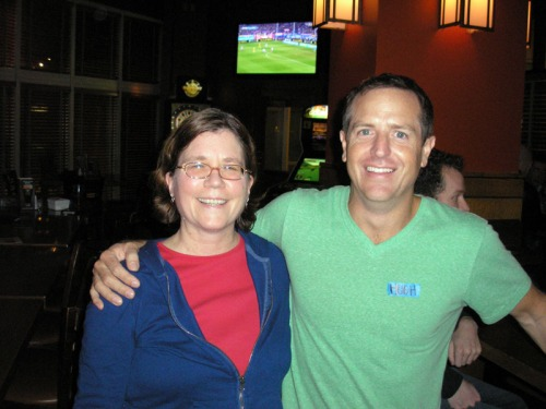 Jennifer Daydreamer and Hugh Howey