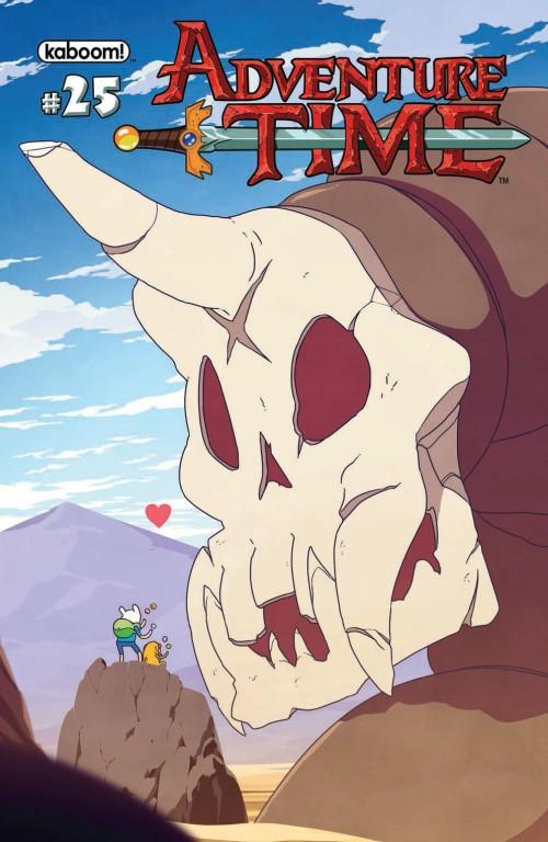 Adventure Time #25, cover art by Matt Cummings