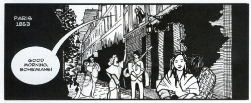 """Where Bohemia Began,"" art by Summer McClinton, script by Paul Buhle"
