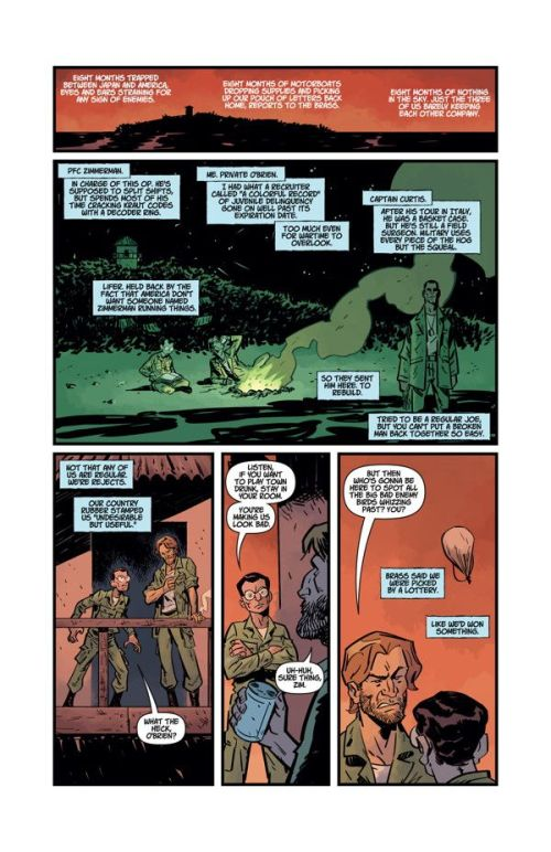 """""""Cruel Biology,"""" by Christopher Sebela and Brian Churilla, in DHP #33"""