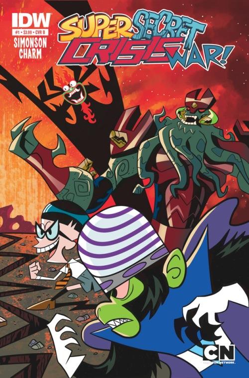 Cartoon Network Comics Grinder