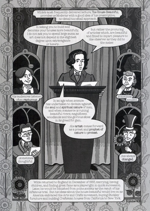 """Oscar Wilde in America"" by Ellen Lindner"