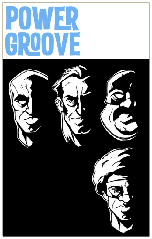 """Power Groove,"" script by Ken Pisani, art by Jim Lavery"