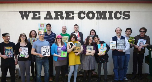 Fantagraphics Books shows support for We Are Comics