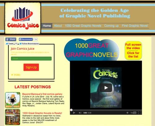 Allen-Rubinstein-Comics-Juice-Graphic-Novel-Tribute