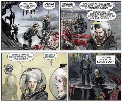 From PROMETHEUS: FIRE AND STONE by Paul Tobin and Juan Ferreyra