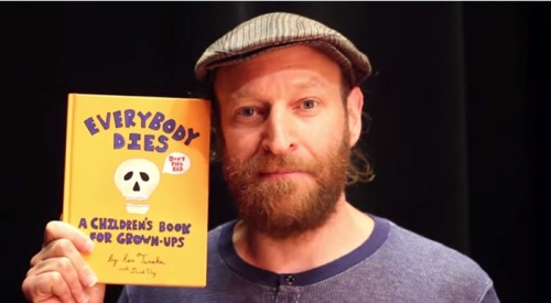 "David Ury and ""Everybody Dies: A Children's Book For Grown-Ups"""