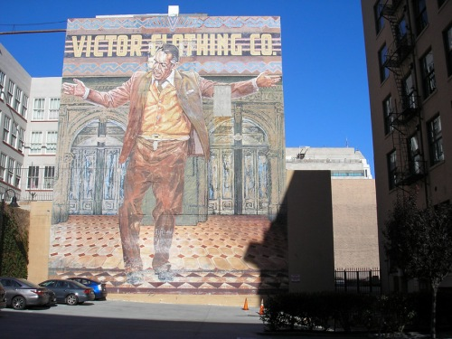 Anthony Quinn mural by Eloy Torrez