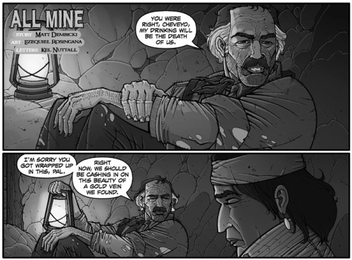 """All Mine"" by Matt Dembicki and Ezequiel Rosingana"