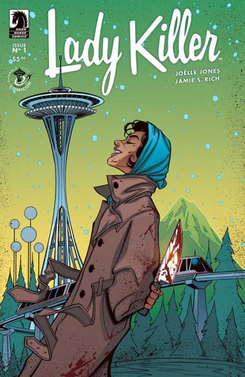 Lady Killer #1 ECCC exclusive variant cover by Joelle Jones (500 copies)
