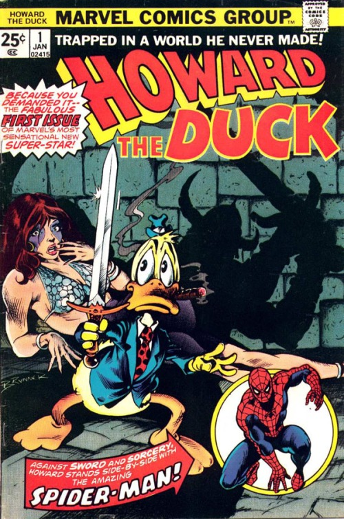 Howard the Duck in 1976