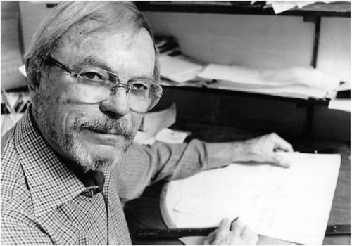 Chuck Jones at work.