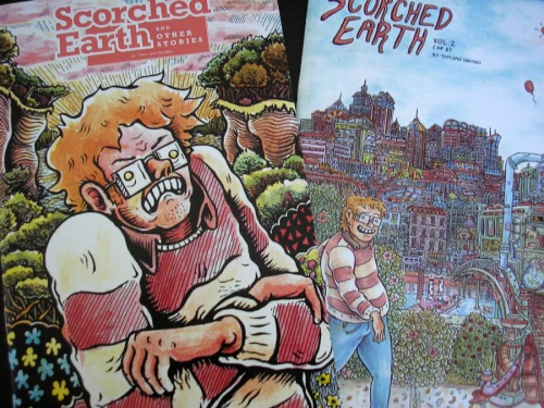 SCORCHED EARTH #1 and #2 by Tom Van Deusen