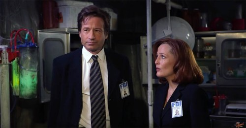 "A lighter side to Mulder and Scully on ""Jimmy Kimmel Live!"" on ABC"