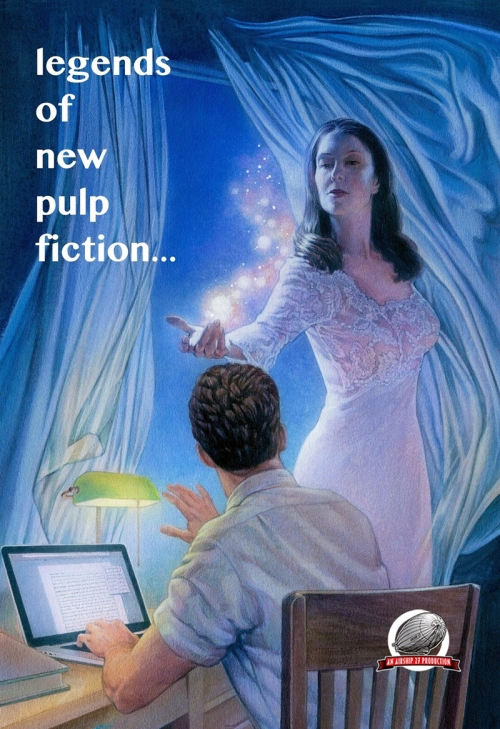 """Legends of a New Pulp Fiction,"" from editor Ron Fortier and Airship 27"