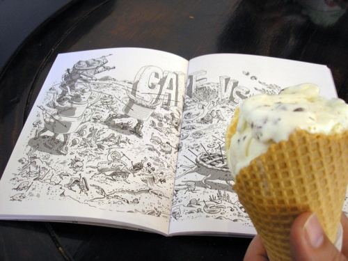 Reading WHY WOULD YOU DO THAT? with Gelato