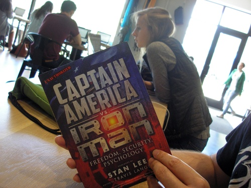 "Reading ""Captain America vs. Iron Man: Freedom, Security, Psychology"""