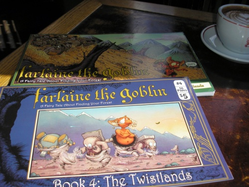 Farlaine the Goblin books