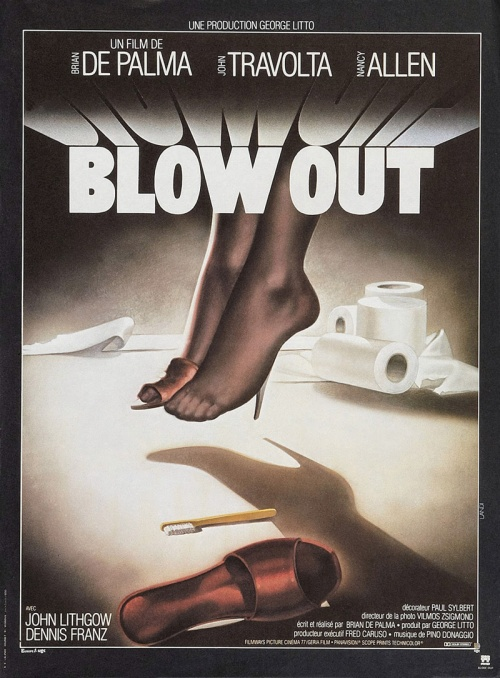 BLOW OUT - French Poster by Michel Landi