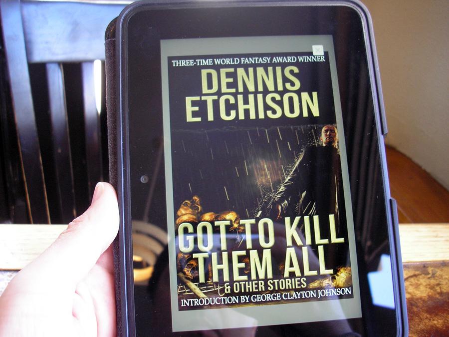 Dennis Etchison Comics Grinder