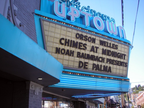 "SIFF Cinema Uptown in Seattle showing ""De Palma"""