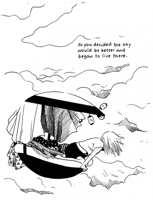 Up, up, in the air with Tillie Walden