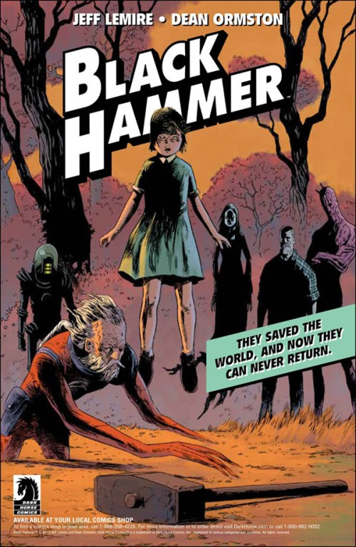 Black Hammer Jeff Lemire