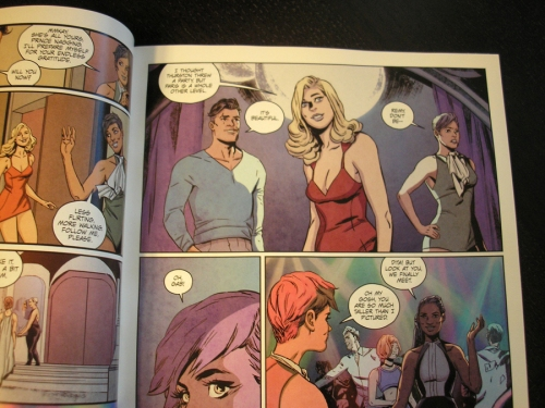 "Reading ""Girl Over Paris #1"""