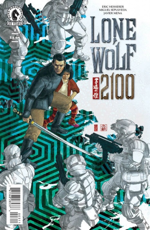 Issue 3 from LONE WOLF 2100: CHASE THE SETTING SUN