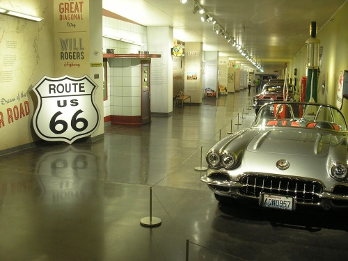 """Route 66: Dream of The Mother Road,"" currently on view at America's Car Museum"