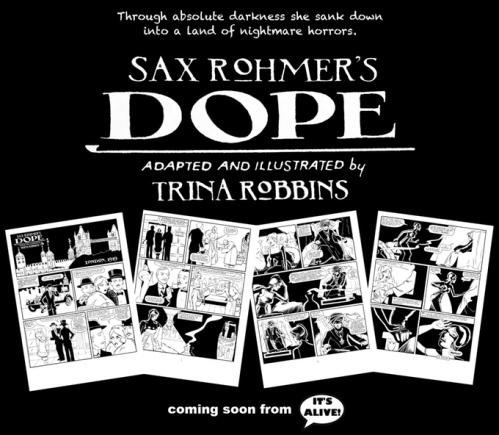 Dope Trina Robbins comics