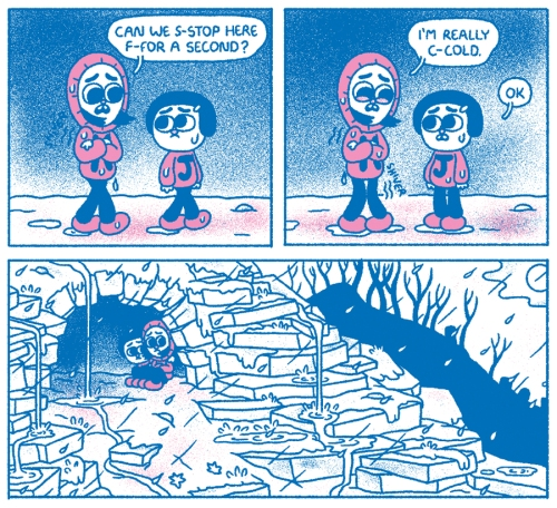 "Panels from John Pham's ""Scared Silly"""