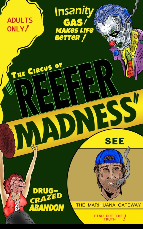 Reefer Madness comics marijuana